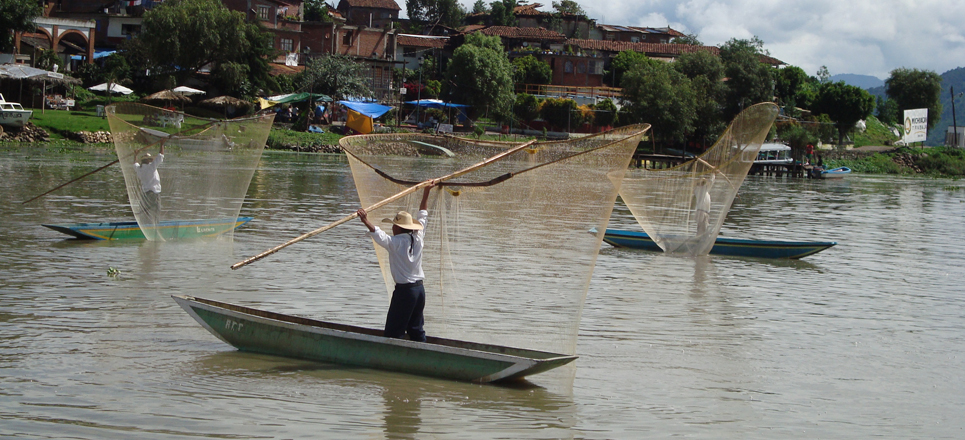 Pescadores de Pátzcuaro