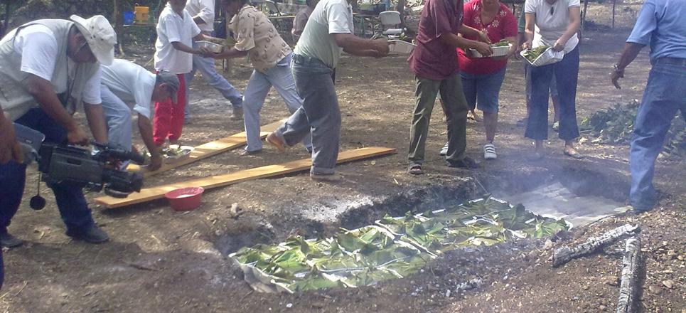 Enterrando pibipollos