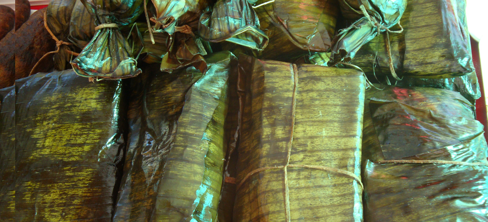 Tamales de Tabasco